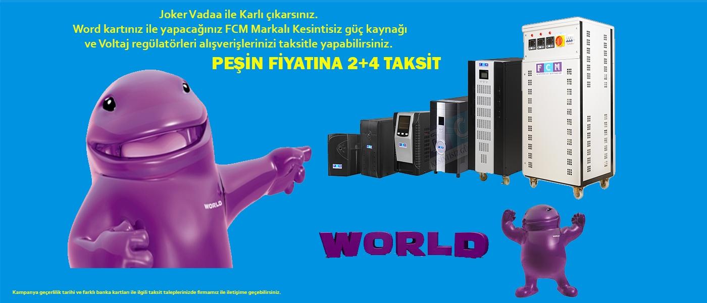 FCM World yapıkredi kampanya
